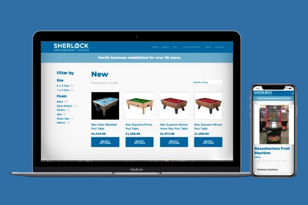 Sherlock Amusement Sales